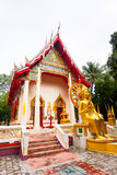 Detail of Buddhist temple in koh Samui, Thailand Royalty Free Stock Photo