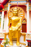 Detail of Buddhist temple in koh Samui, Thailand Royalty Free Stock Images