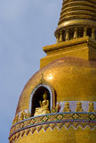 Detail of Buddhist temple in Thailand Royalty Free Stock Photography