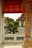 Detail in Buddhist temple Royalty Free Stock Photo