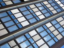 Detail of a building. Detail of a modern building Royalty Free Stock Photos
