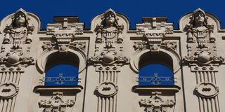 Detail of building Royalty Free Stock Images