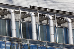 Detail of building, Brussels Stock Images