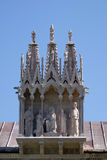 Detail of the building Camposanto Monumentale in Pisa Royalty Free Stock Image