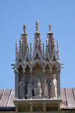 Detail of the building Camposanto Monumentale in Pisa Royalty Free Stock Images