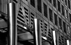 Detail of a building, London City Royalty Free Stock Photo