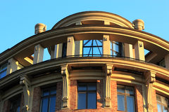 Detail of building in new classical style Stock Photo