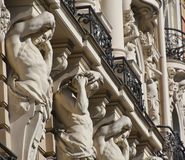 Detail of building in Riga Stock Images