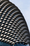 Pointy Building. Architecture, Singapore. Detail of a building in Singapore downtown Stock Photography