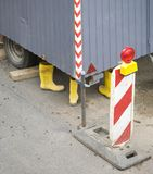 Detail of a building site, Royalty Free Stock Images