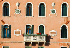 Detail of building in Venice Royalty Free Stock Photos