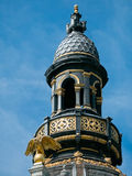 Detail of buildings along Meir Street Antwerp Royalty Free Stock Photography