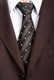 Detail of a Business man Suit Stock Photo