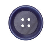 Detail of the button on white background Stock Images