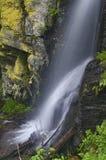 Detail an Bystre-Wasserfall stockfotos