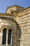 Detail of byzantine church at Corfu Royalty Free Stock Photos