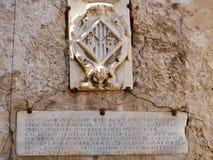 Detail in Cagliari Stockfoto
