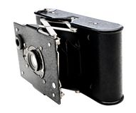 Detail of a camera Stock Photo
