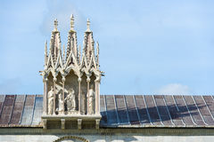 Detail Camposanto Monumentale Stock Photo