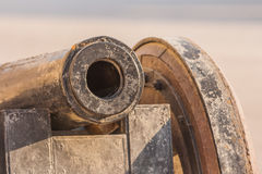 Detail of cannon Stock Photography