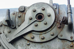 Detail of a cannon component Stock Image