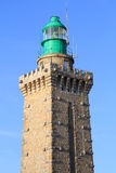 Detail of Cap Frehel lighthouse Stock Photo