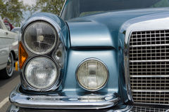 Detail of car Mercedes-Benz 280 SE (W111) coupe Stock Photography