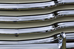 Detail of car radiator Stock Photos