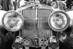 Detail of car Triumph Roadster Royalty Free Stock Photo