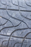 Detail of a car tyre Stock Photo