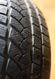 Detail of car tyre profile Stock Images