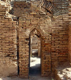 Detail of Caravanserai Royalty Free Stock Image