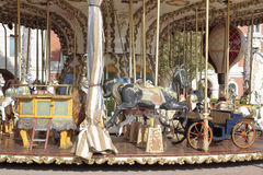 Detail of a carousel Stock Image