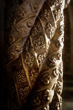 Detail of a carved column Royalty Free Stock Image