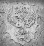 Detail of carved. Stone at in Bali, Indonesia Royalty Free Stock Photography