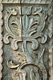 Detail of carved  wood decorative Royalty Free Stock Image