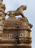 Detail of carving on the Victory Tower, Chittaurgarh, Rajasthan Royalty Free Stock Photography