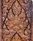 Bas-Relief Statue background of Khmer Culture in Angkor Wat, Cam Stock Image