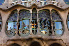 Detail Casa Batlló Royalty Free Stock Images