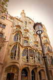 Detail of Casa Batllo - Barcelona - Spain Royalty Free Stock Images