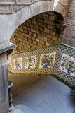 Detail of `Casa del Ardiaca` in Barcelona Royalty Free Stock Image