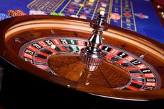 Detail of casino roulette, another view Royalty Free Stock Image