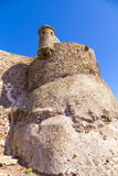 Detail of the Castillo de Santa Barbara in Lanzarote Royalty Free Stock Photo