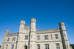 Detail of the castle Stock Photography
