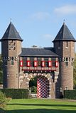 Detail from castle 'De Haar' Royalty Free Stock Photo