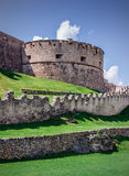 Italian Castle. Detail of a castle in Italy Royalty Free Stock Images