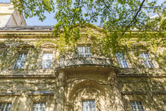 Detail of the castle of Vajdahunyad in Budapest royalty free stock photos
