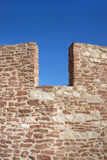 Detail of a castle wall Royalty Free Stock Photography