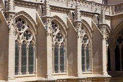 Detail of the catedral of Burgos Stock Photo