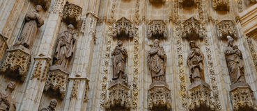 Detail cathedral Royalty Free Stock Images